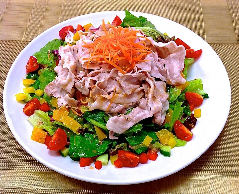 Summer is hot. August is brutal. Here`s a cool, carniverous salad to satisfy the omnivore within you. Our summer special, Shabu Shabu Salad.