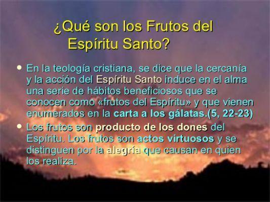 9 Frutos Del Espiritu Santo Related Fruto Del Espíritu