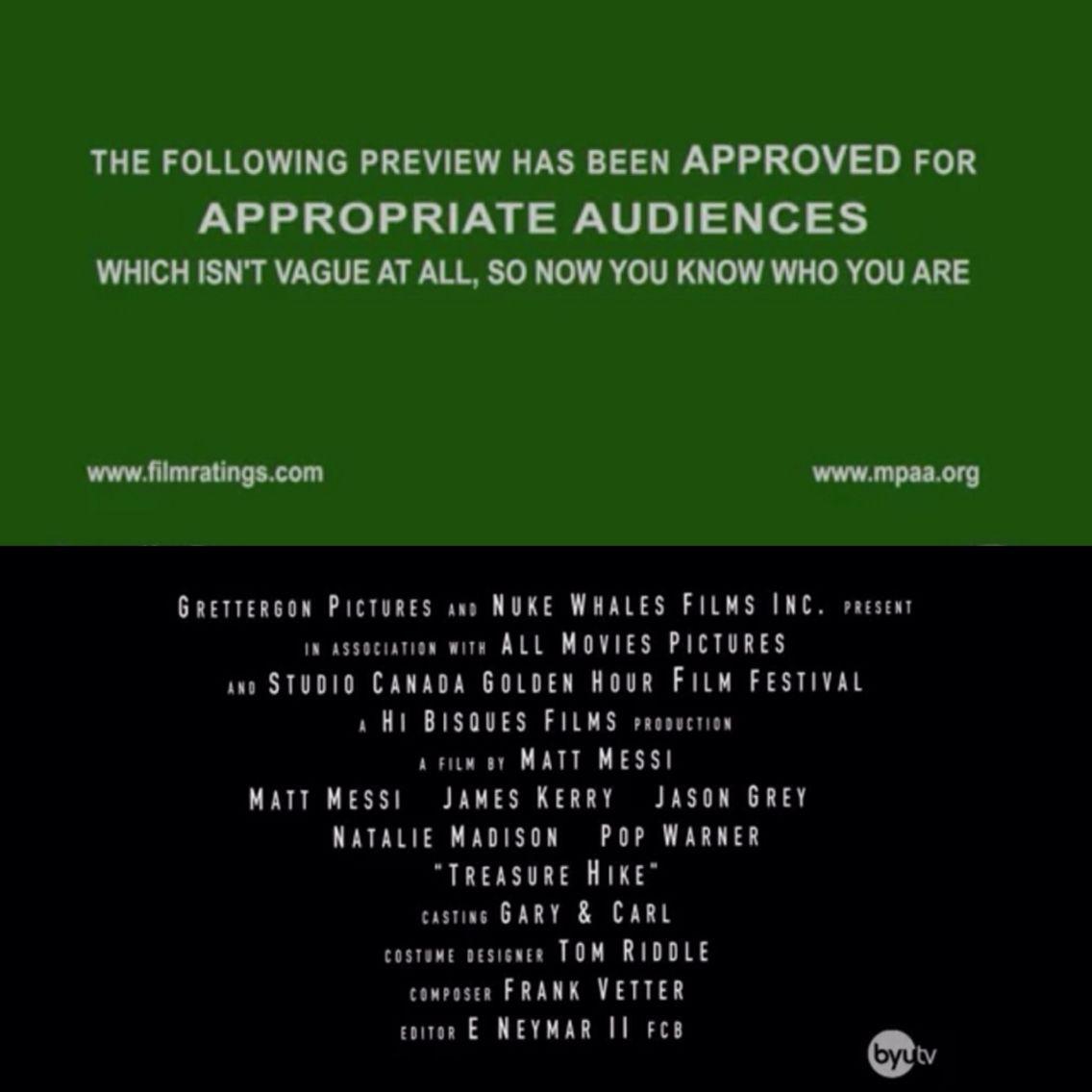 Studio C Movie Trailer That Spoils Everything The Credits Are So Funny Studio C Studio Movie Trailers