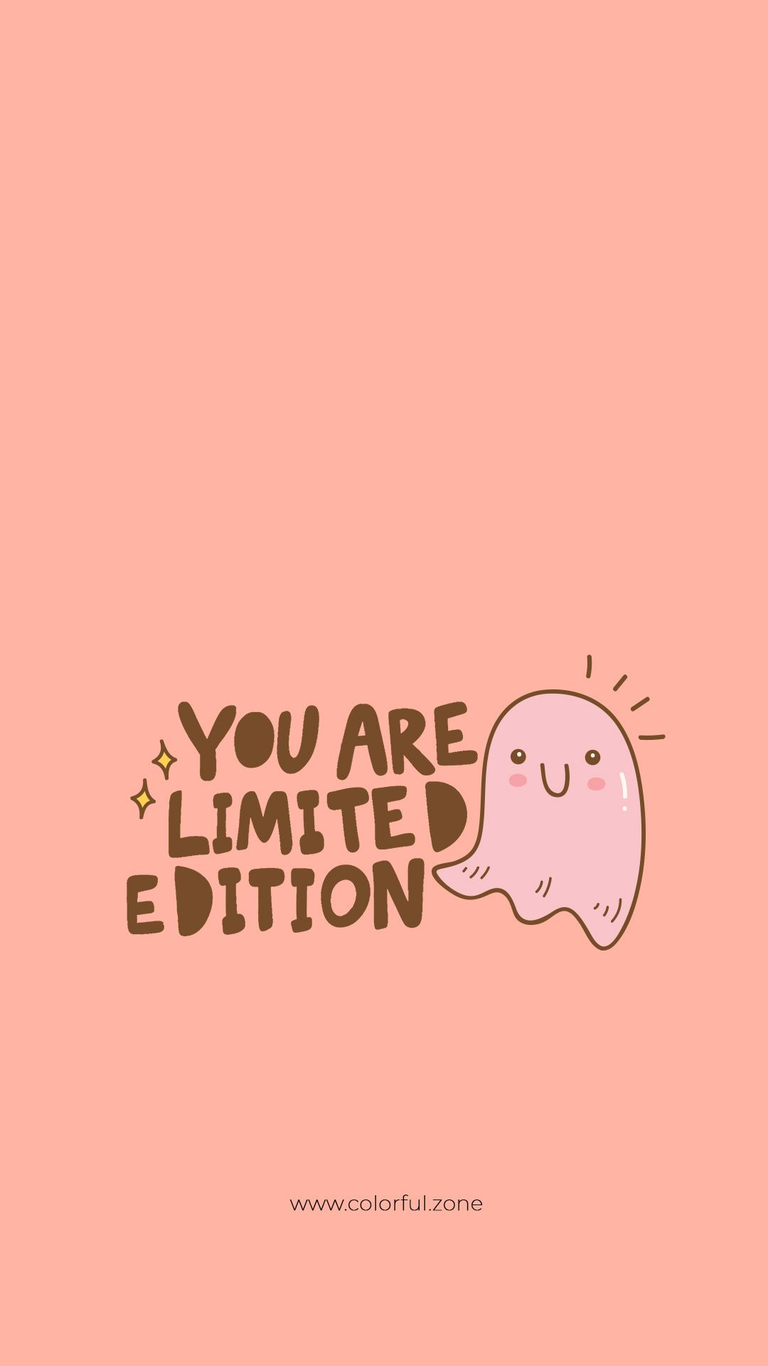 Free Colorful Smartphone Wallpaper - You are limited edition