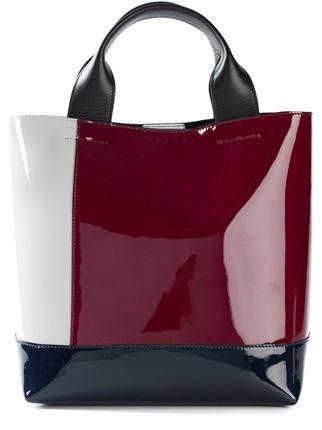 68fa3d95b1f1 Marni Colour Block Tote - Biffi - Farfetch.com