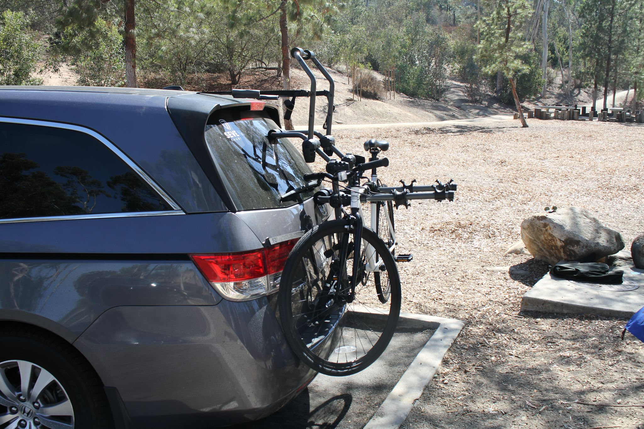 The New F2 Over The Top Trunk Bike Rack From Hollywood Racks