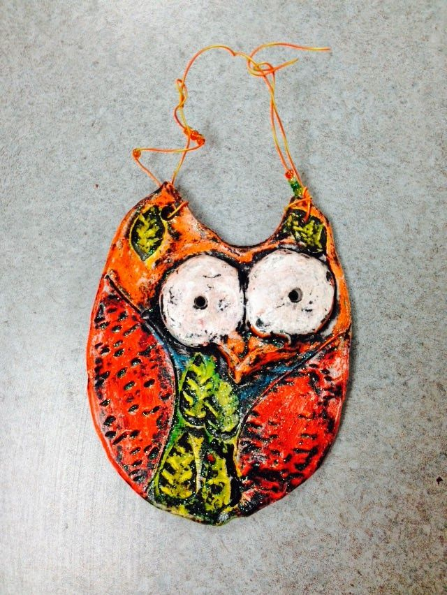 WHAT'S HAPPENING IN THE ART ROOM??: 1st Grade Clay Owls