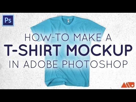 Download T Shirt Mockup Photoshop Tutorial Mockup Photoshop Shirt Mockup Photoshop