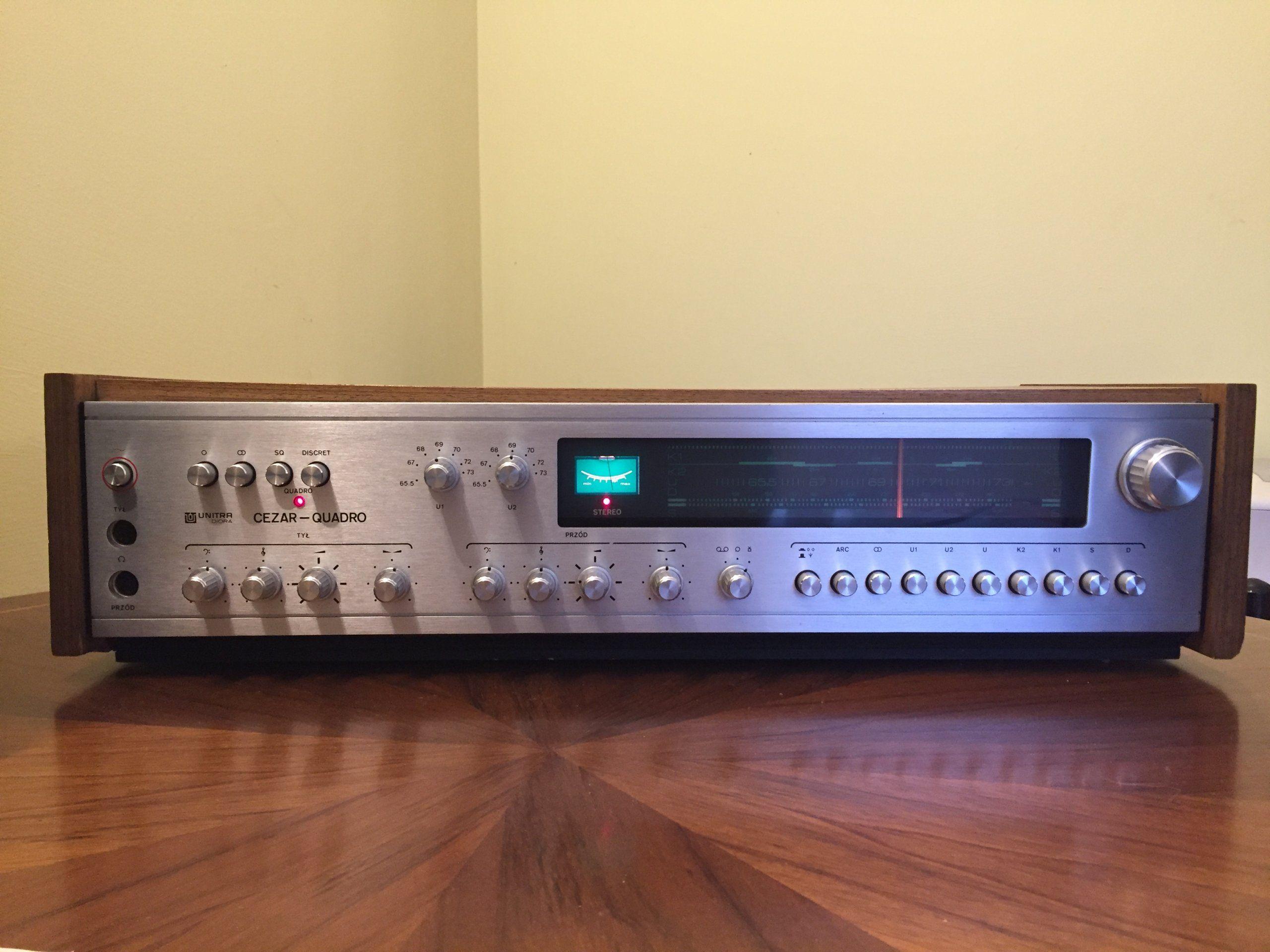 Radio Unitra Diora Cezar Quadro Dks 201 16001 7137509061 Oficjalne Archiwum Allegro Radio Hifi Car Radio