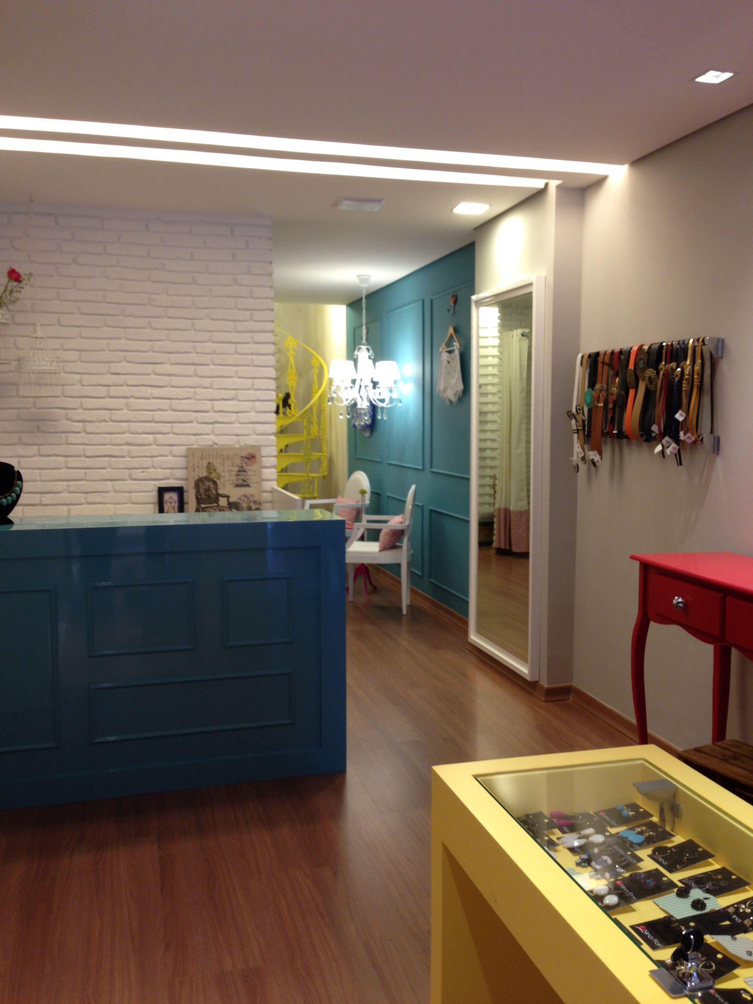 Loja Roupa Feminina Amis Arquitetura Loja De Roupa Design De