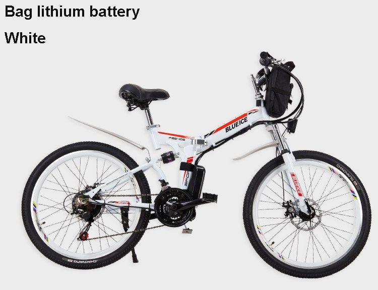 24 26 Inches Electric Mountain Bicycle Lithium Battery Power