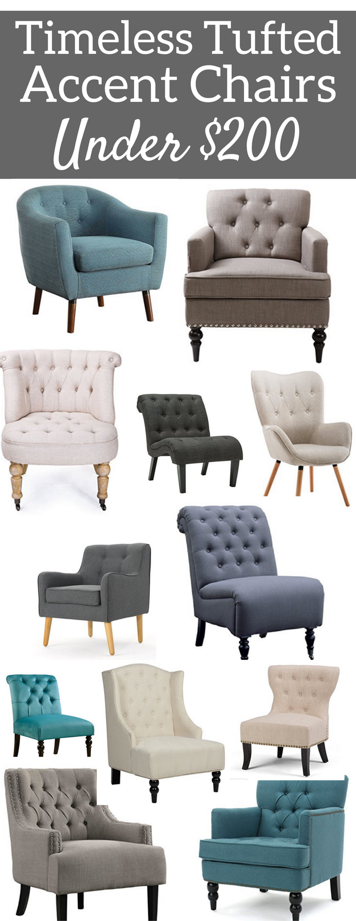 Living Room Accent Chairs That Are Tufted Met Afbeeldingen