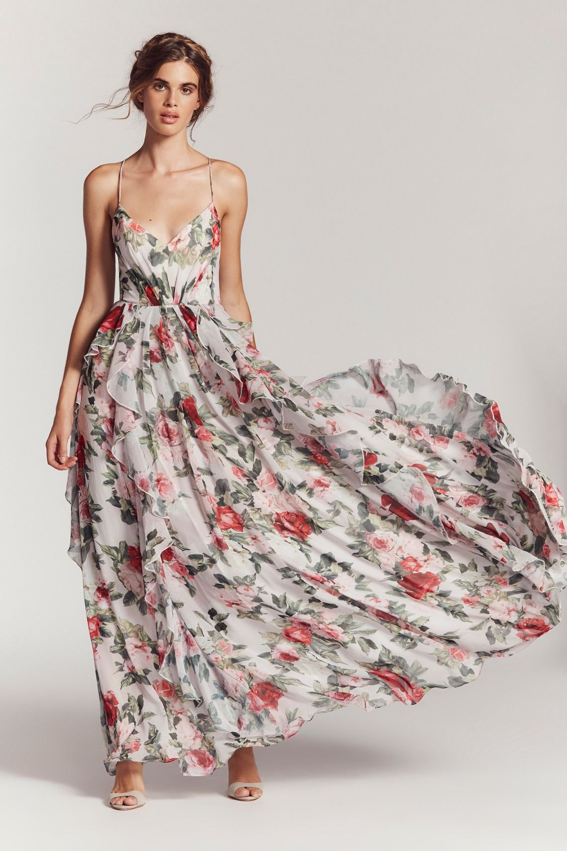 8d39342088f8 Fame and Partners Liberty Queen Ann Maxi Dress at Free People Clothing  Boutique