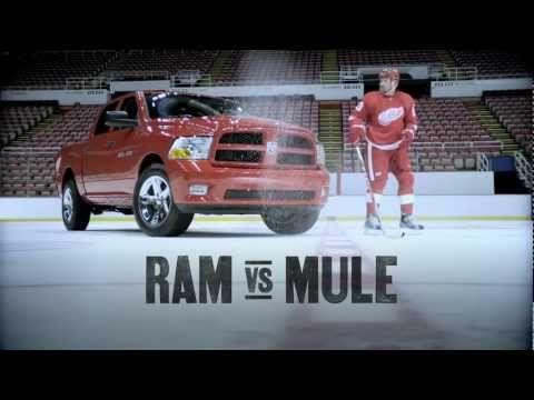 Ram Trucks I Toss I Ram Vs Mule Love This So Funny He Sounds