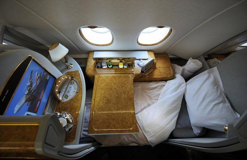 Meet Luxury Interior Design Projects Inside First Class Plane