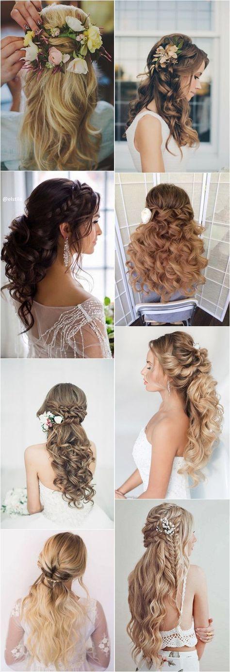 69 Trendy hair styles braided tutorial half up