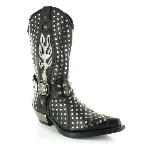 Men's cowboy boots with skulls on them   Men's Red River Cowboy ...