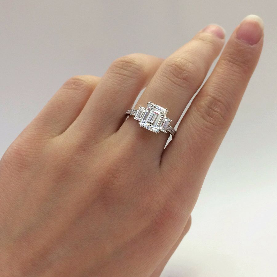 simulant diamond to rings simulants how tips engagement clean on