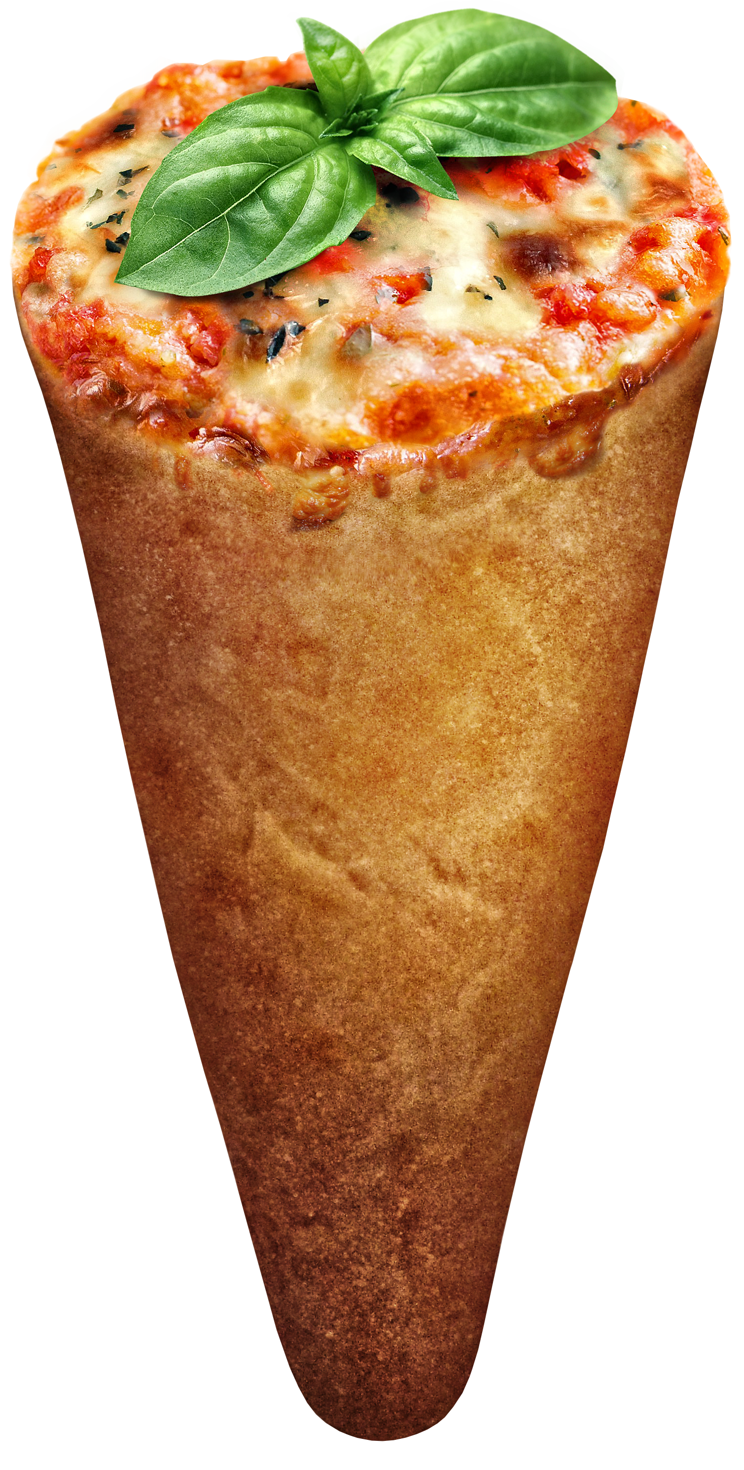 Margarita Pizza Cone