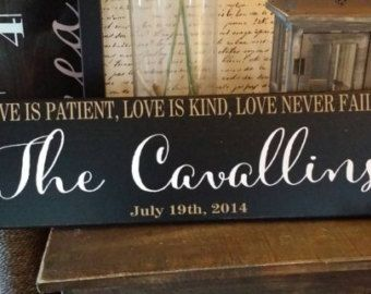 Personalized wedding gifts established patient
