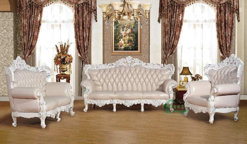 Luxury white classic sofa set designs for living room - Luxury-white-classic-sofa-set-designs-for-living-room Sofa