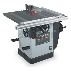 Delta 36 714 Table Saw 10 In Blade 5 8 In Arbor Woodworking Table Plans Table Saw Delta Table Saw