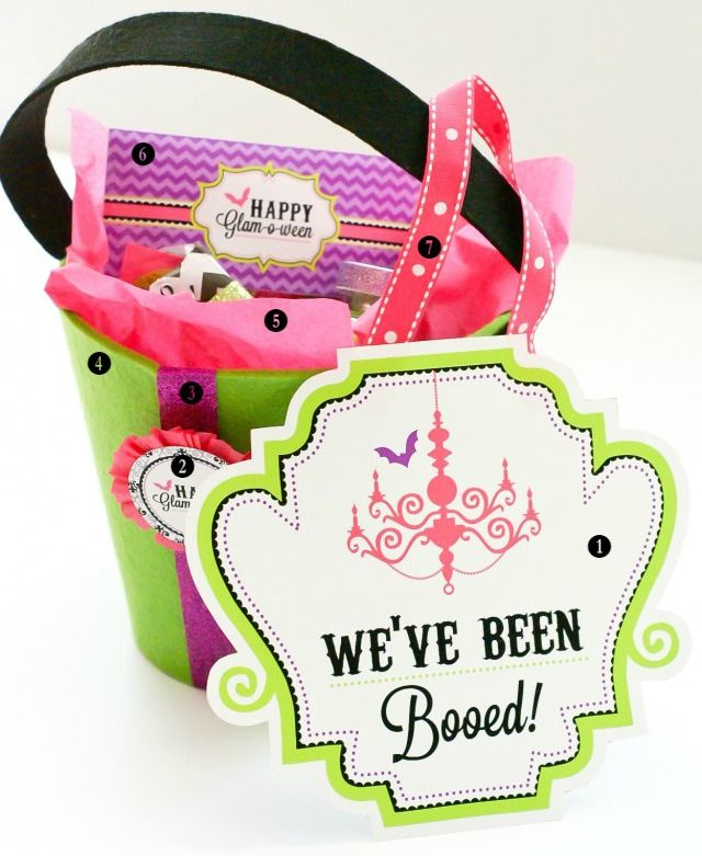 free printable boo sign fill a bucket with goodies from oriental - Oriental Trading Free Printables