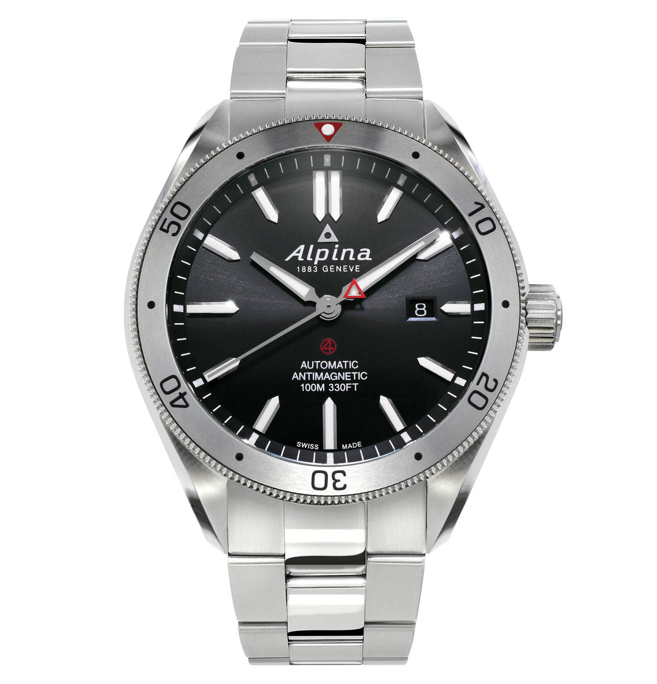"Herrenuhr ""Alpiner 4 Automatic"" AL525BS5AQ6B in 2020"