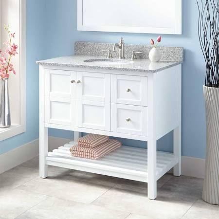 36 Inch Bathroom Vanity Granite Top Google Search Bathroom Vanity Bathroom Vanity Designs White Vanity Bathroom