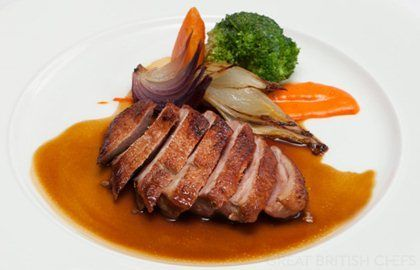 Duck breast with spiced sauce Recipe Great British, Ducks and