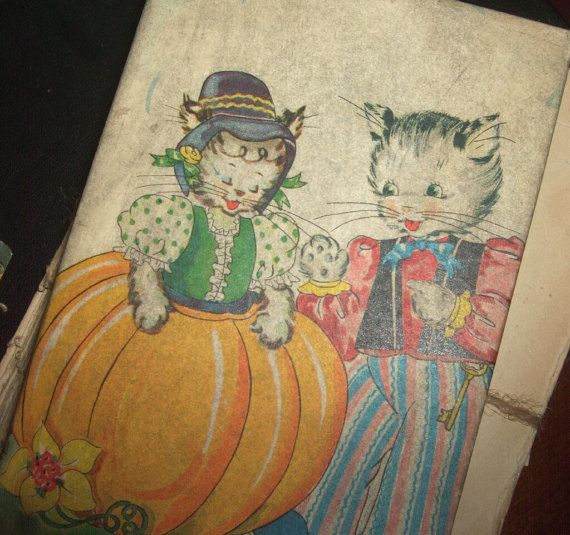 Vintage Peter Pumpkin Eater Puzzle by saltsmansoap on Etsy