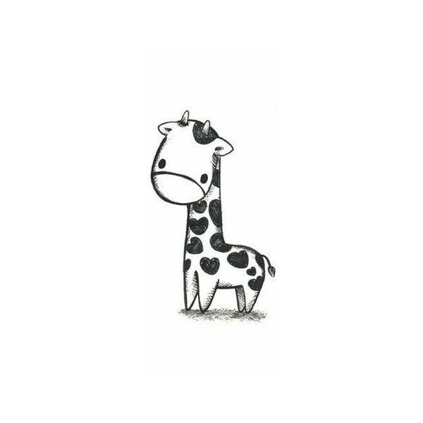 Cute drawing image by kmkbitchdgaf420 on Photobucket found on Polyvore... ❤ liked on Polyvore featuring animals
