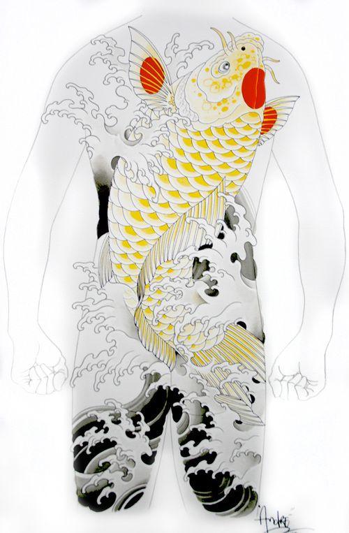 Paint9 Jpg Japanese Tattoo Koi Tattoo Design Japanese Tattoo Designs