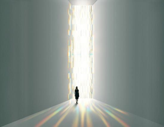 tokujin yoshioka: rainbow church at spectrum