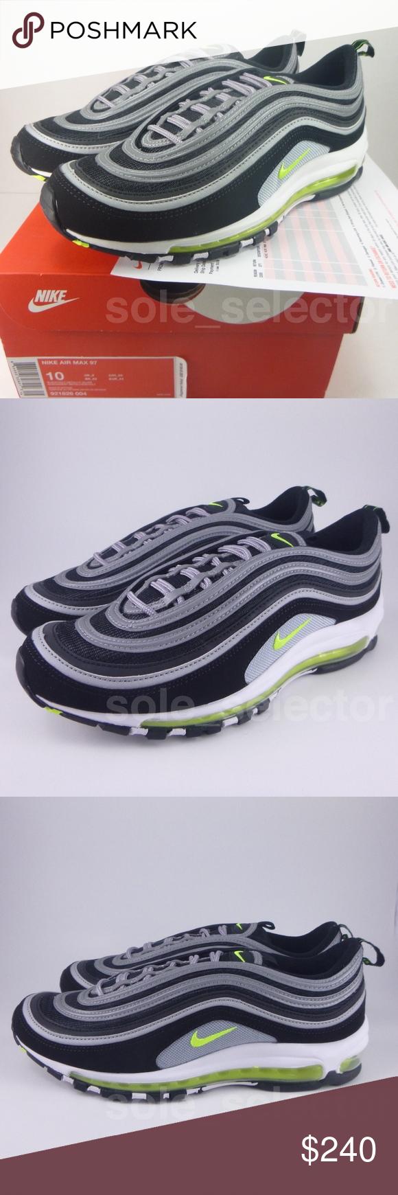 NWT Nike Air Max 97 OG QS Volt JAPAN 921826-004 10 Fast 1d89d0682