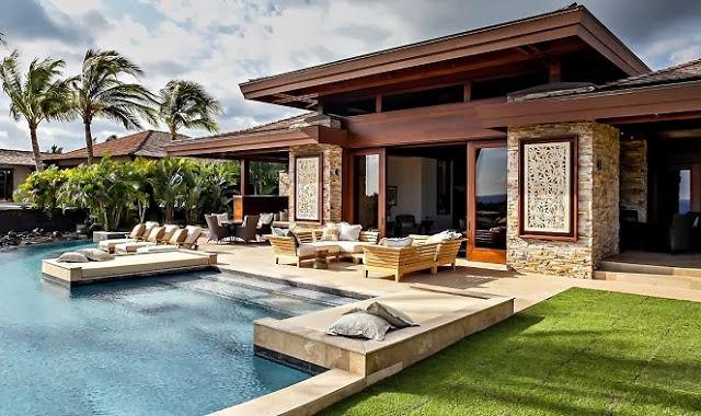 183 casas campestres modernas dise os interiores y Imagenes de disenos de interiores de casas