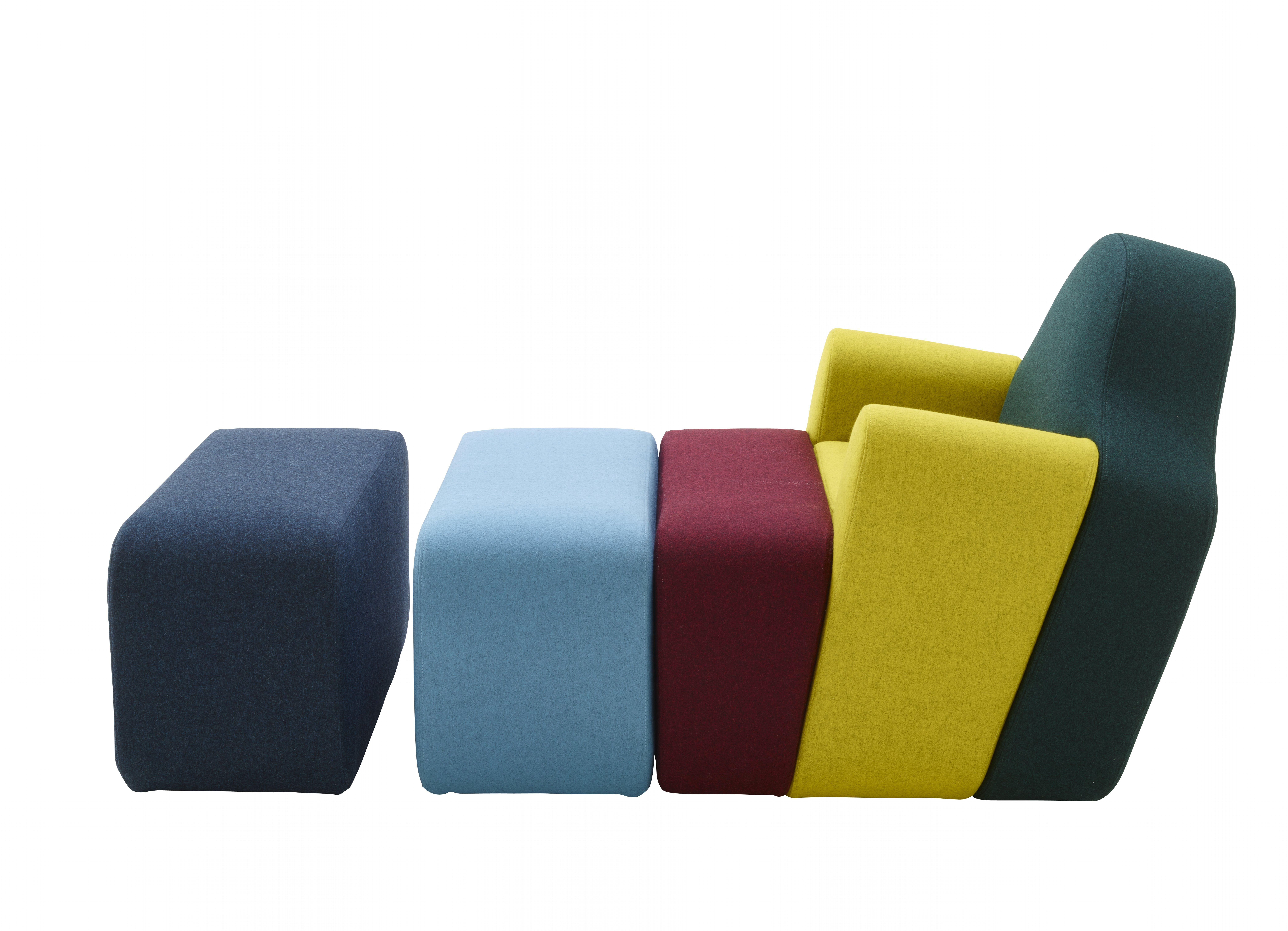 Slice armchair, by Pierre Charpin - Newsletter of September 2016