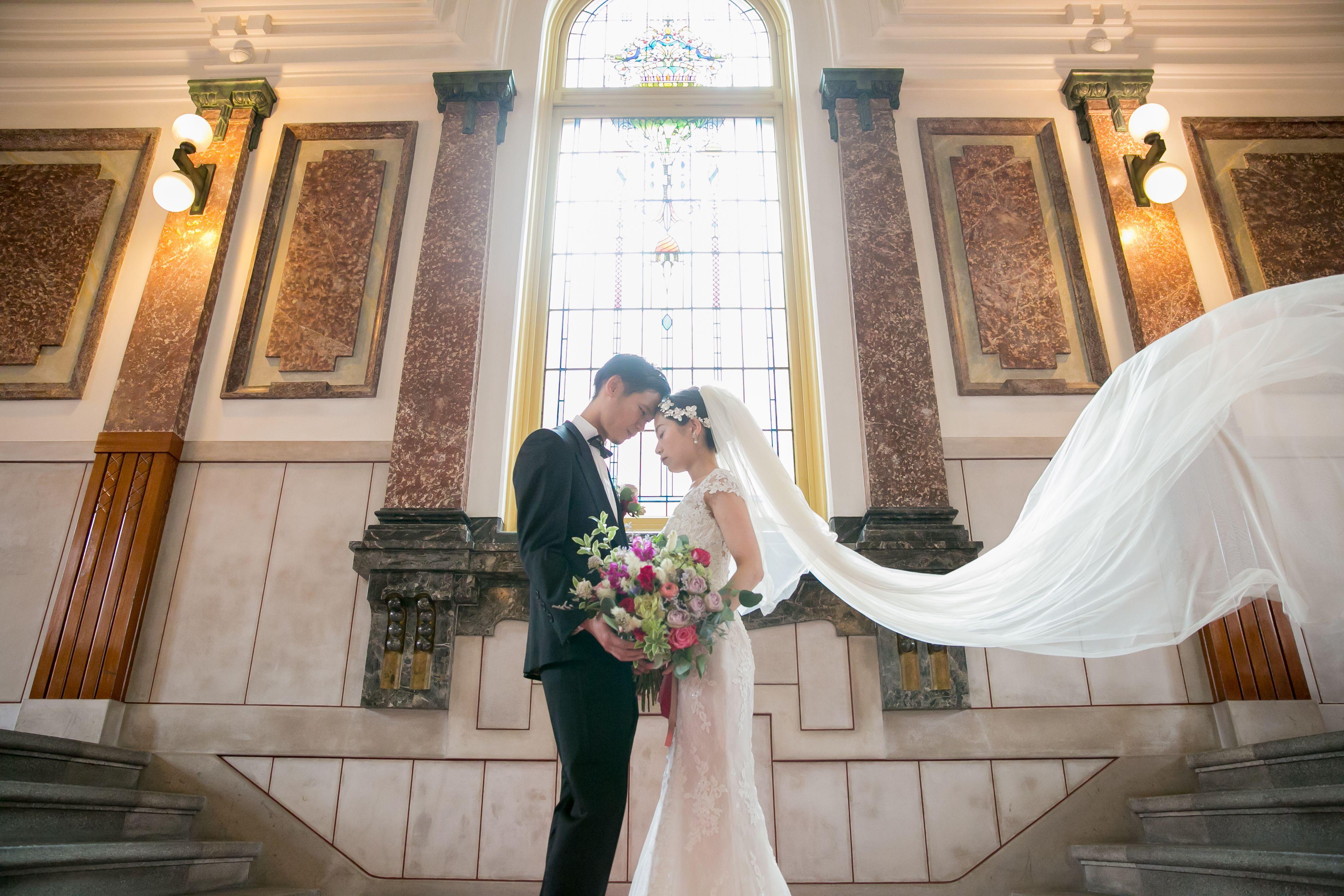 名古屋市市政資料館 フォトウェディング ウェディングフォト ウェディング ロケーションフォト 前撮り 結婚式 ドレス ウェディングドレス ウエディング 結婚式 前撮り ウェディング