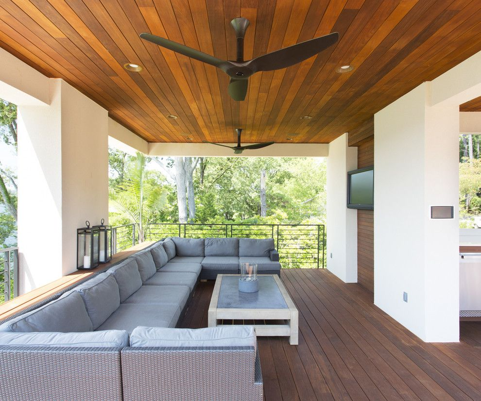 Exterior Wood Ceiling Planks In 2020 Patio Ceiling Ideas Outdoor Fans Patio Outdoor Ceiling Fans