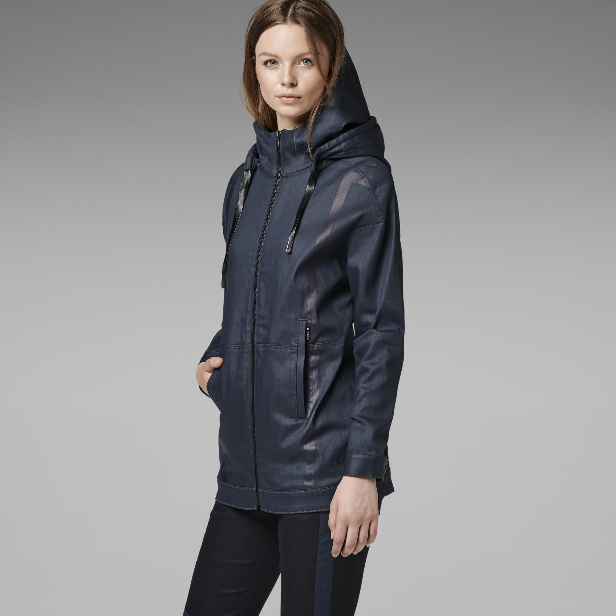 G-Star RAW | Women | Shirts | A-crotch Sp Hood Bomber ,