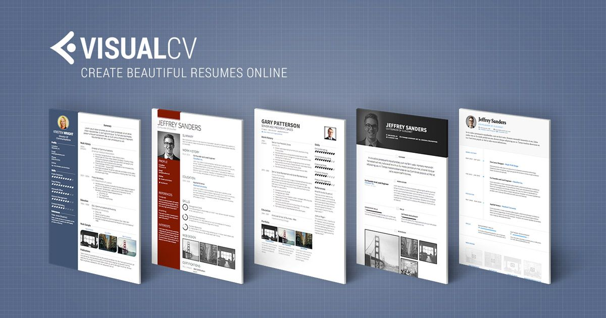 real cv examples resume samples visual cv free samples database