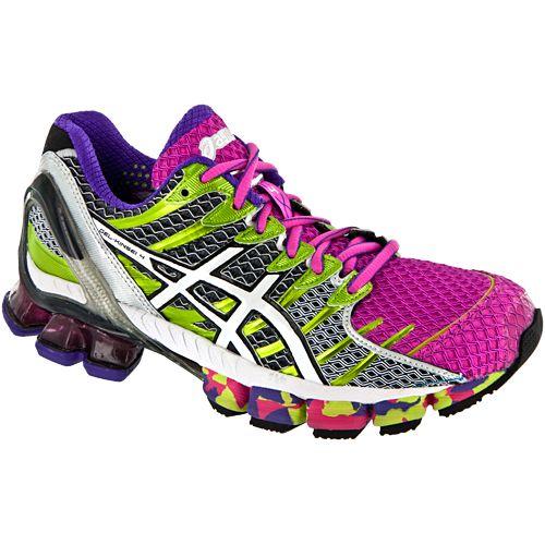 hot sale online b0790 40dd6 Asics Gel-kinsei 4  Asics Women s Running Shoes Hot Pink white lime