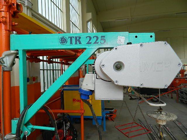 Montacarichi Imer Modello Tr225n Monofase Portata Max Kg