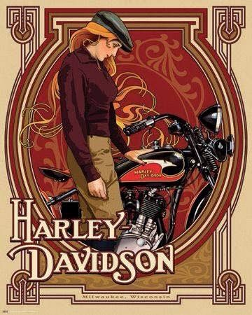 Deco Harley Davidson