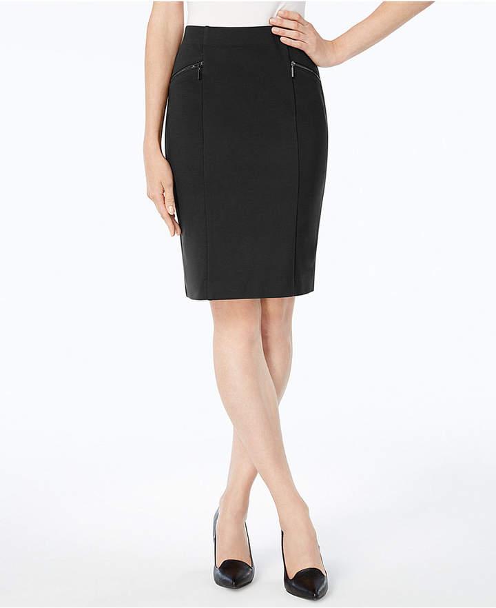 9e447f0e5d Alfani Ponte Pencil Skirt | Products | Pencil skirt outfits, Knit ...
