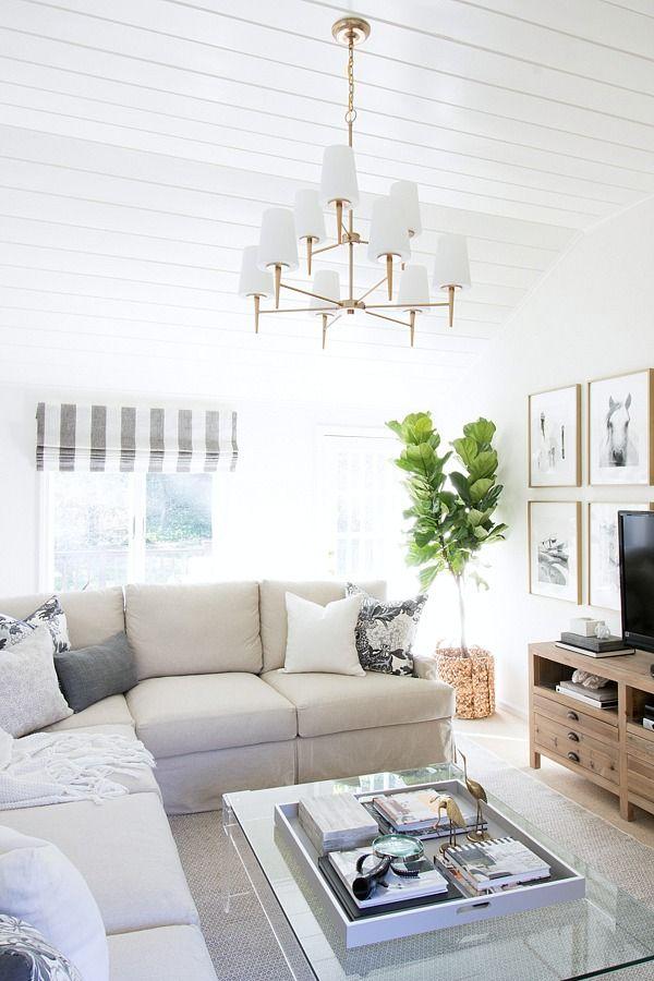 One room challenge family room reveal home living room for Hogar a lena esquinero