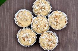 Vanilla Crunch Muffins   How Sweet It Is