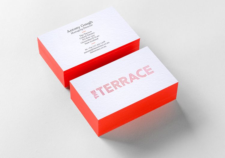 Business cards with colored edges arts arts image result for white with fluorescent edge color stories coloured edge business cards colourmoves