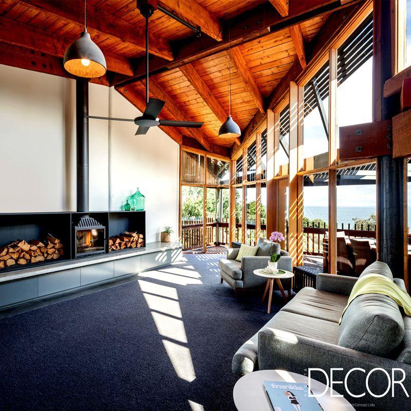 Localizada ao sudeste de Melbourne, Austrália, residência preserva  elementos projetados na década de 1970 72e0aea84a
