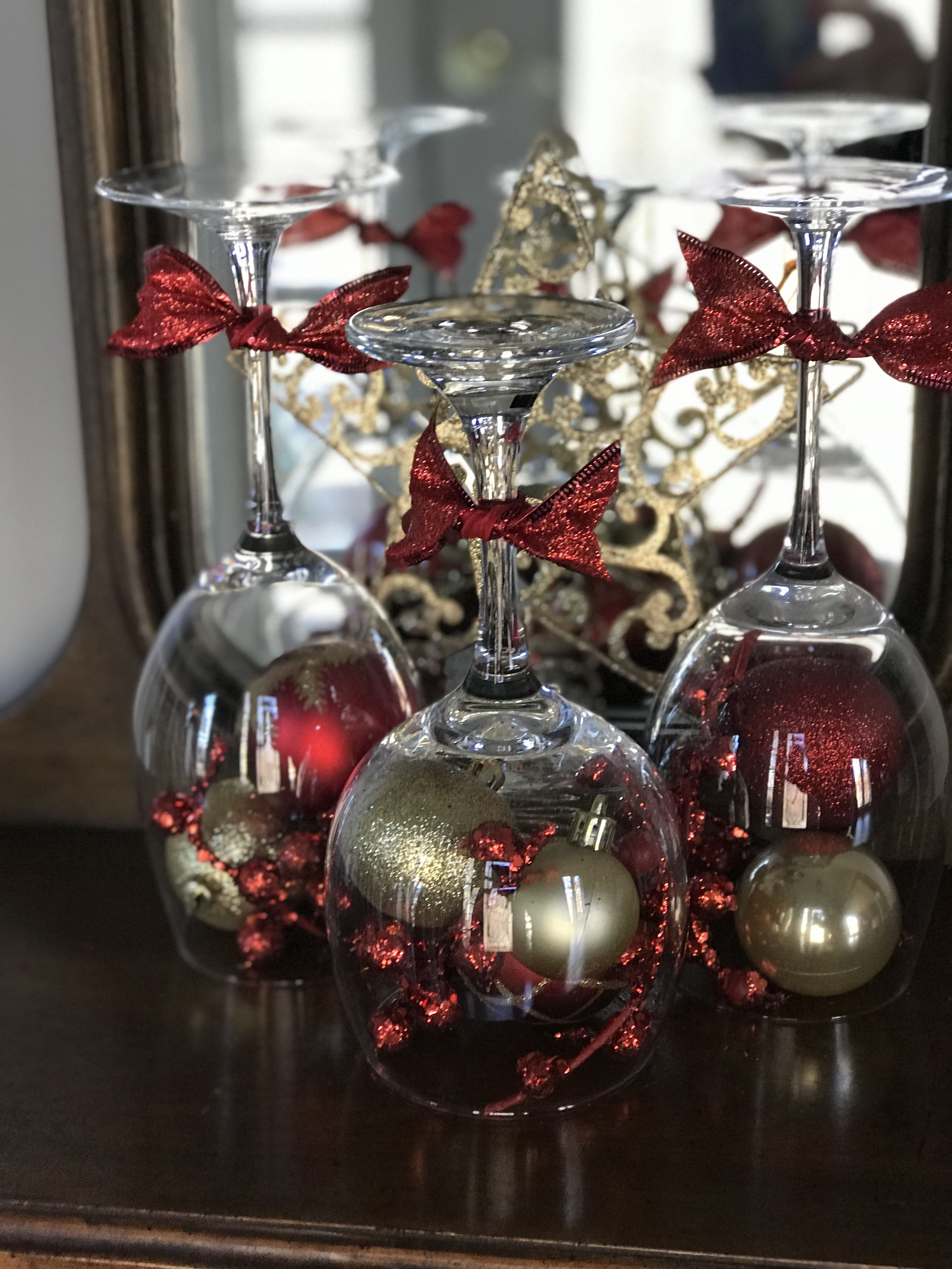 simple christmas decor for small surface