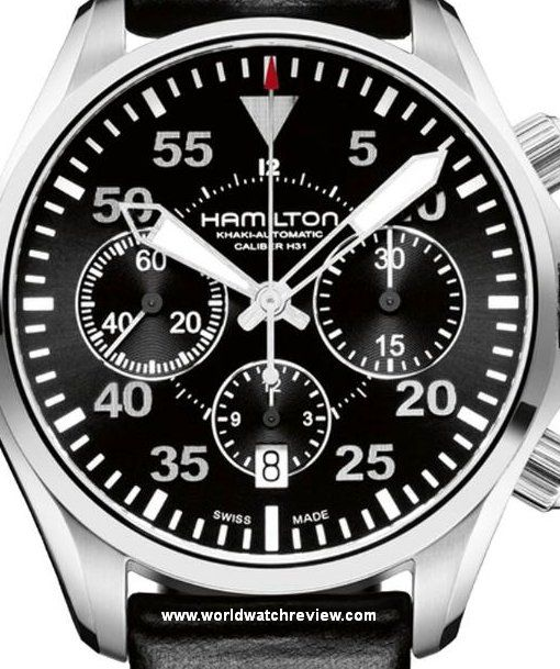 Automatic Khaki Pilot De ChronographRelojes Hamilton Aviation WED2bYe9HI