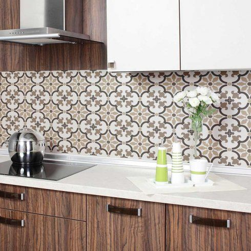 Based On Traditional Portuguese Azulejos Tile Designs, This Tile Stencil Is  Perfect For Creating A Gorgeous Accent Wall, Kitchen Tile ...