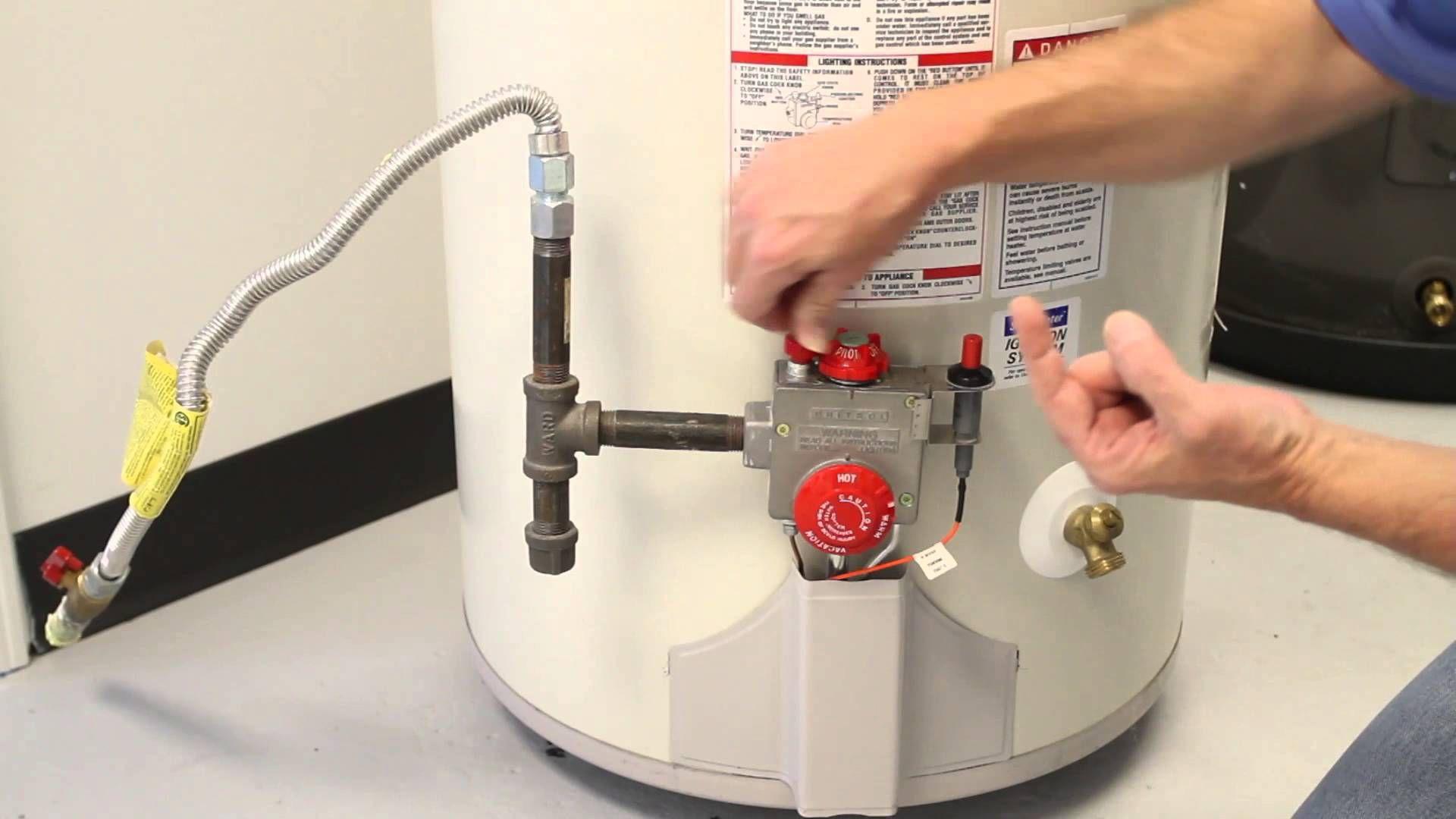 How to Reset Gas Water Tank Pilot Light Atlanta Habitat