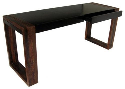 environmentally friendly office furniture. Refined Rustic Desk, Sustainable Environmentally Friendly Woodland Creek Furniture Office